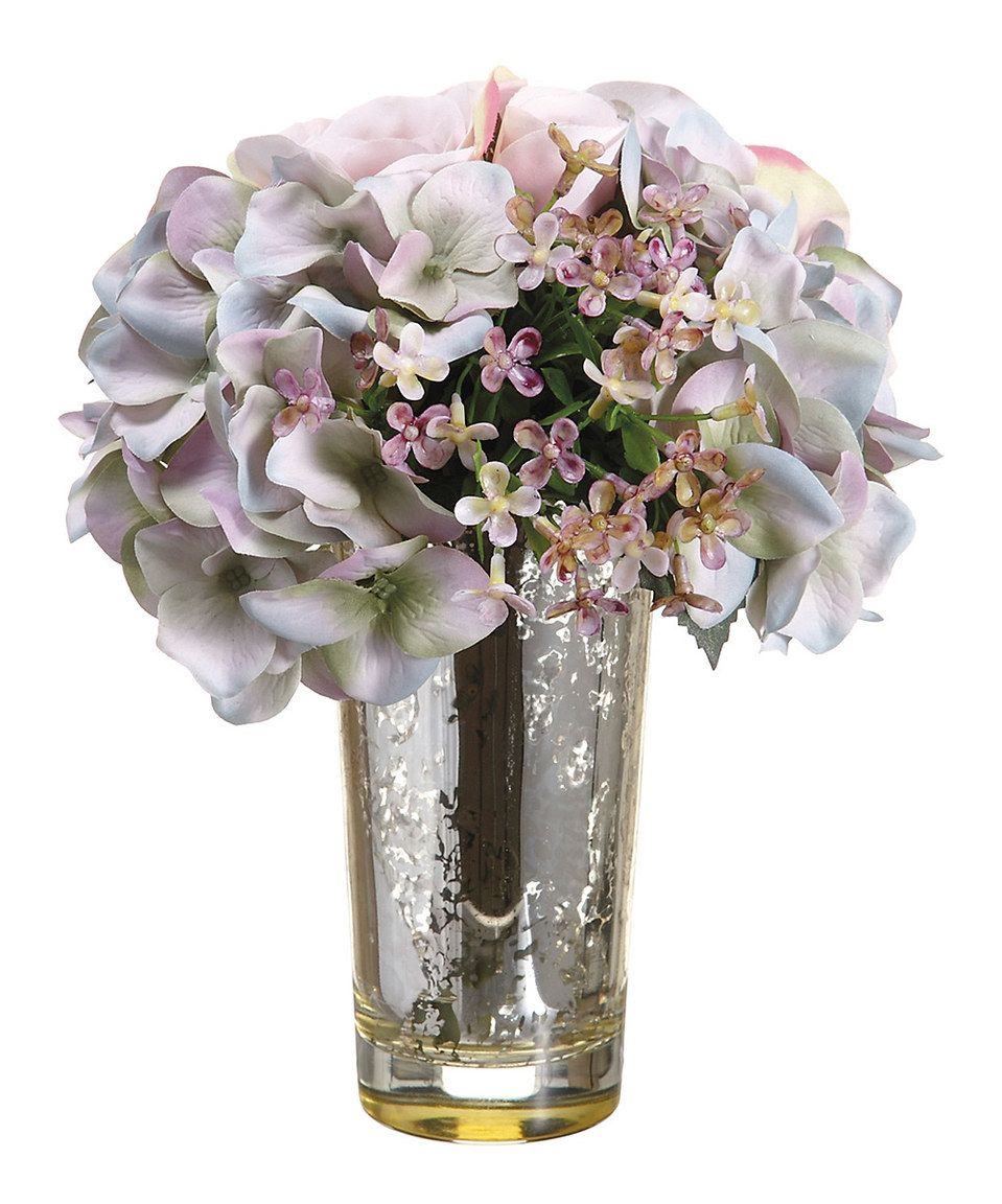 Large Hydrangea Rose Arrangement By Allstate Floral Craft Zulily