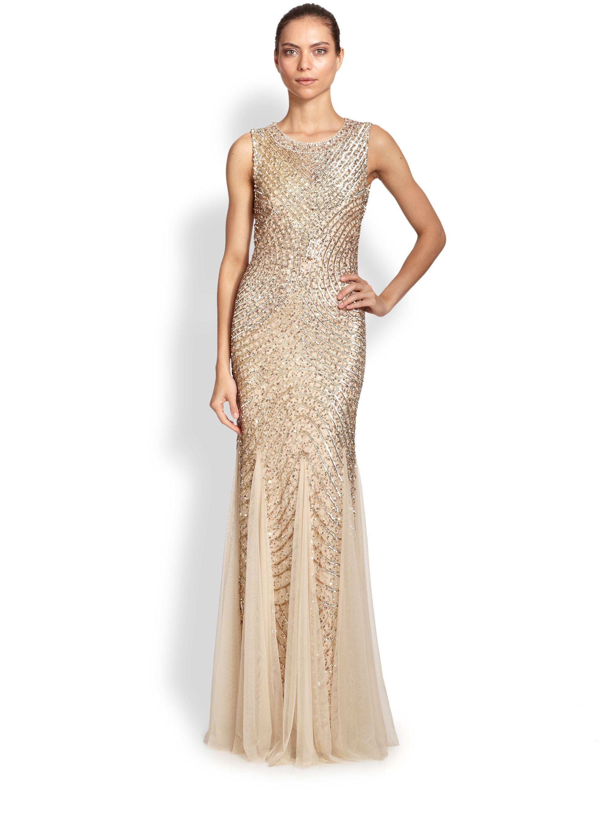 https://www.lyst.com/clothing/aidan-mattox-sequined-godet-gown-no ...