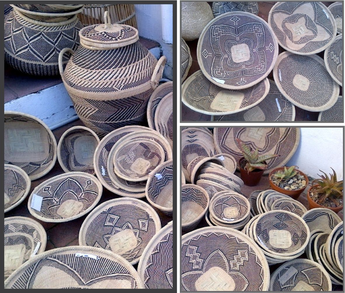 African Baskets: Finely Woven By BaTonga Women In