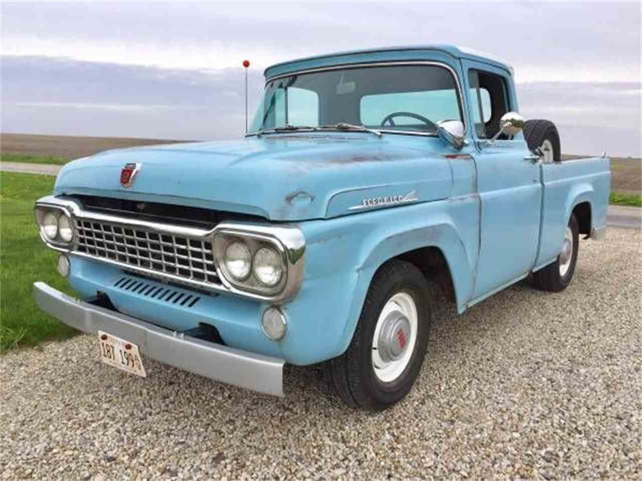 F100 1958 Trucks Pinterest Ford And 1955 F500 Parts Old Pickup Antique Vintage
