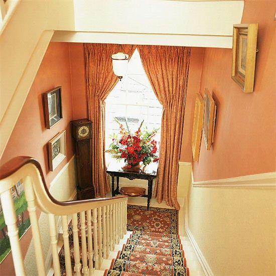 Small hallway | Landing furniture | Decorating ideas | housetohome.co.uk
