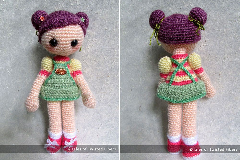 I'm super excited to tell you that the pattern for Cookie, the amigurumi girl, the little cutie you all loved so much, is now ready for download :D And, as I had promised in my last post, the patte...