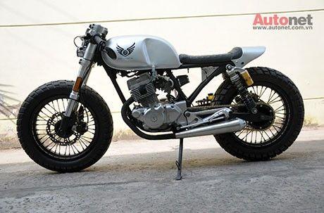 biến hình honda cb 125t 1986 thành café racer | motorcycles