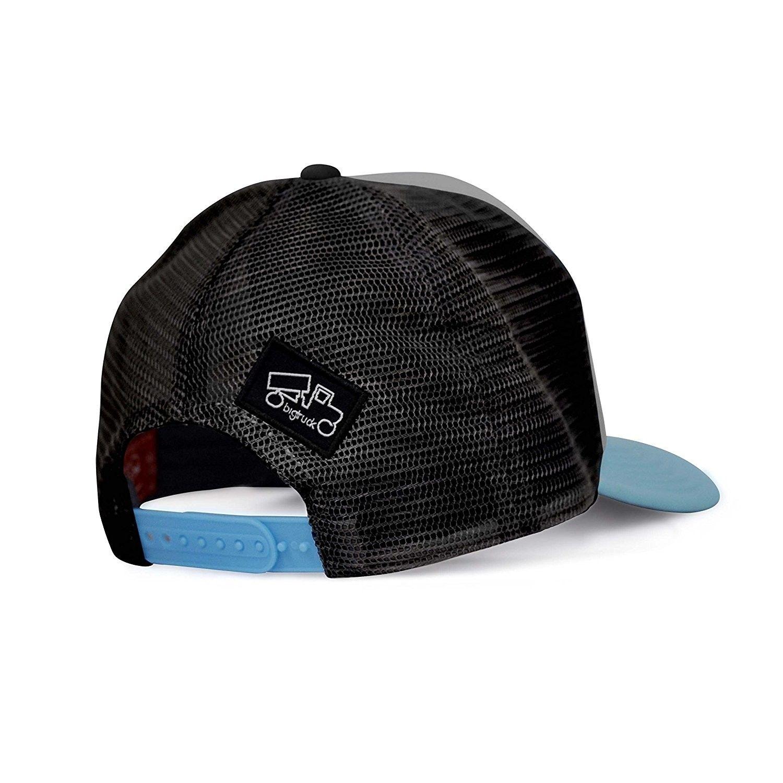 f310d705083 Original Yoga Mesh Snapback Trucker Hat- Grey Black - C012E6U5UCJ - Hats    Caps