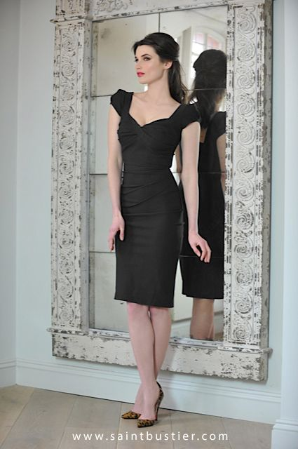 Nigella Dress In Black As Worn By Lawson See More Dresses For Women With Beautifully C Hh Cup S At Www Saintbustier