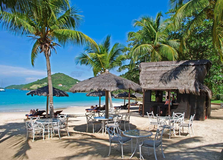Séjour à Canouan et détente sur la plage du Tamarind Beach