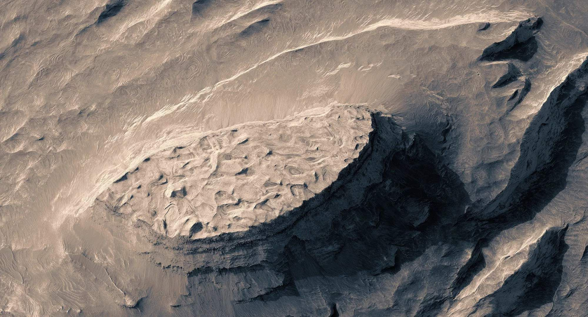 This 3D Video of Mars Feels Trippy and Surreal Mars
