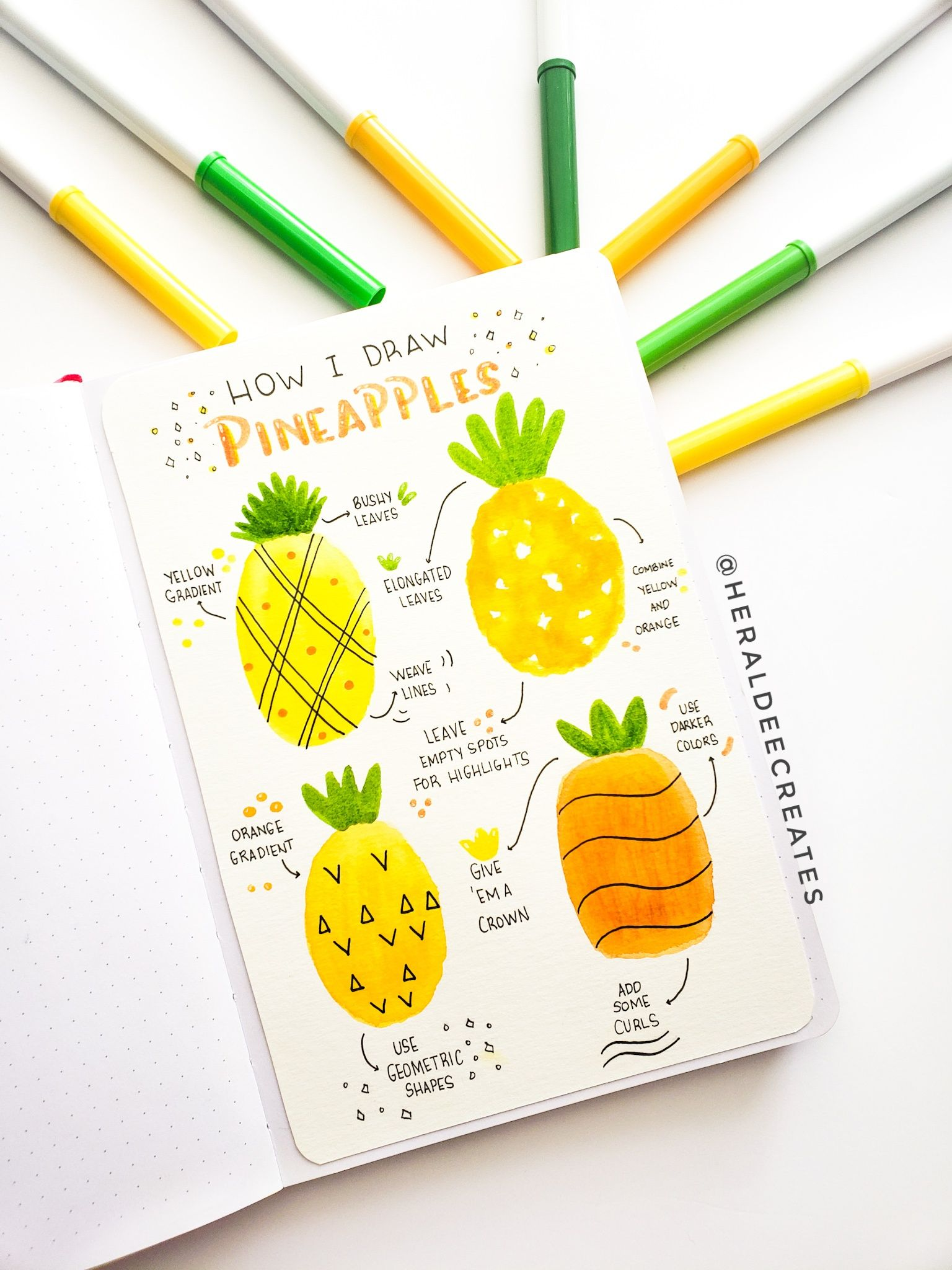 Pineapple Doodles