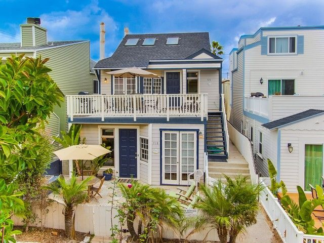 Mission Beach Vacation Rental Vrbo 511019 This Is The Listing For The Upper Unit 2nd 3rd Floors 4 B Mission Beach House Rental Beach Vacation Rentals