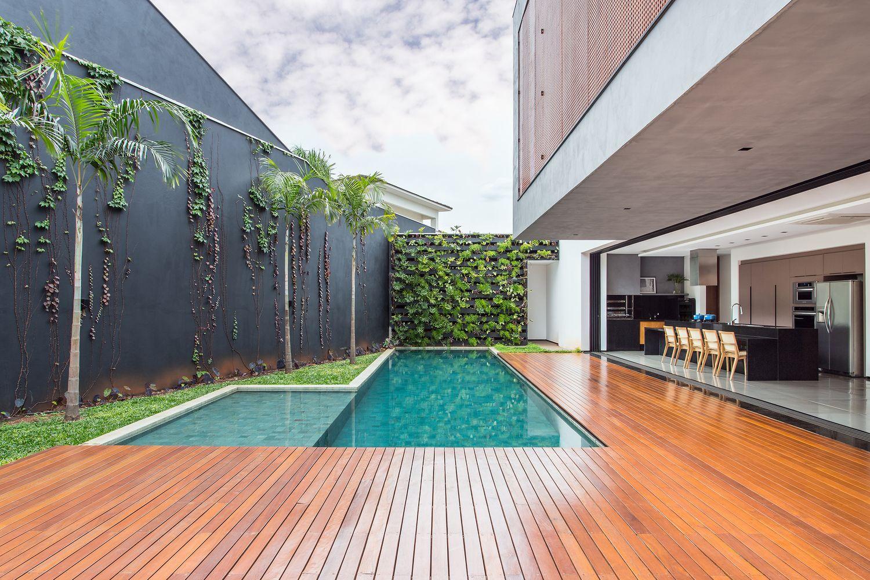 Galeria de resid ncia act cf arquitetura 5 piscinas - Residencia de manila swimming pool ...