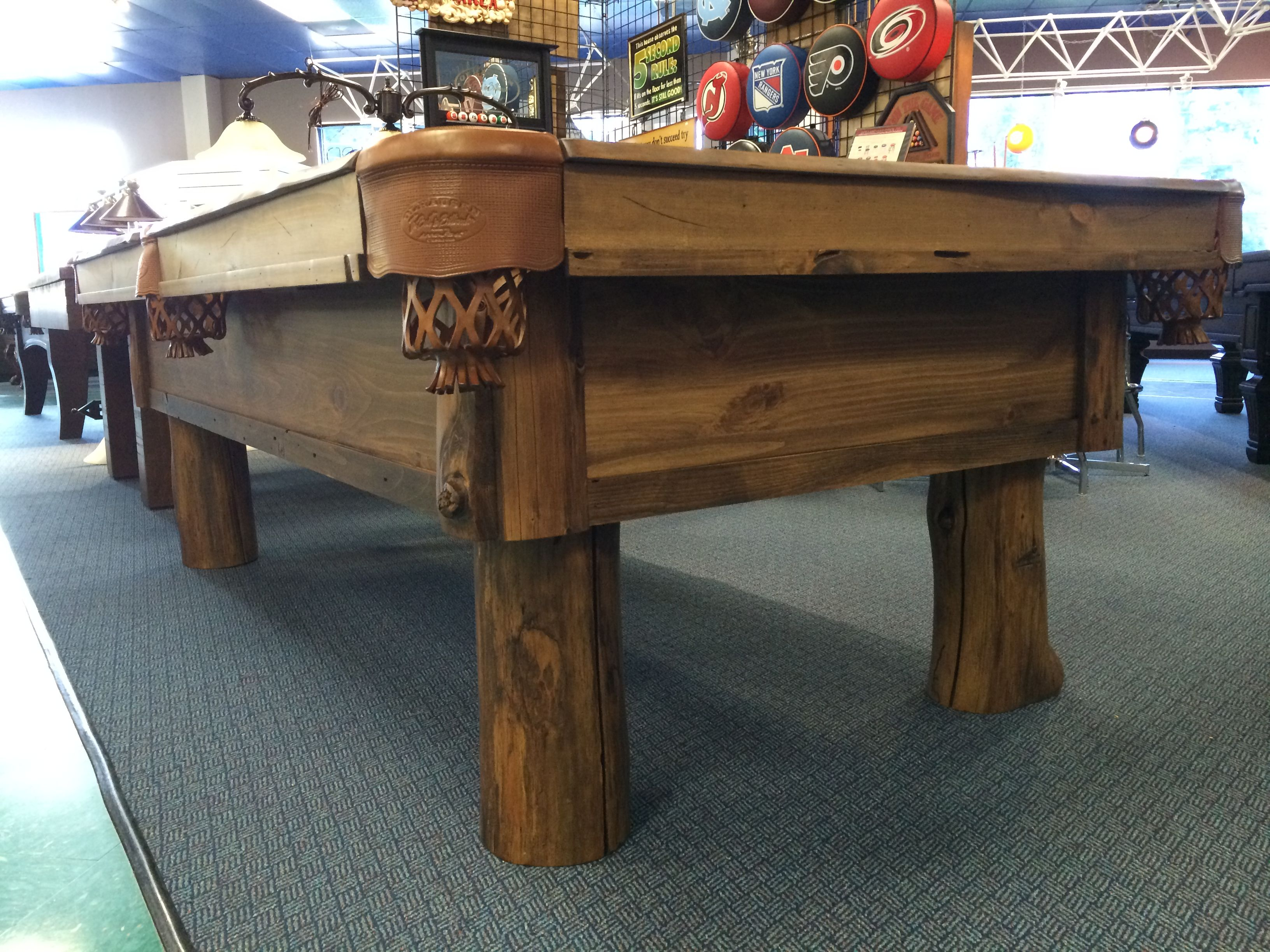 Hereu0027s The New 8u0027 Olhausen Pinehaven On Display At Atlantic Spas And  Billiards In Raleigh, NC #Olhausen