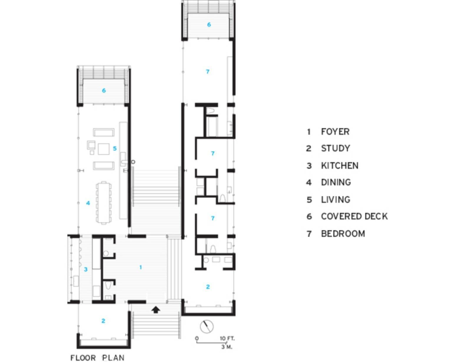 Images From Two Hulls House By Mackay Lyons Sweetapple Architects 15 Hull House Architect House Floor Plans