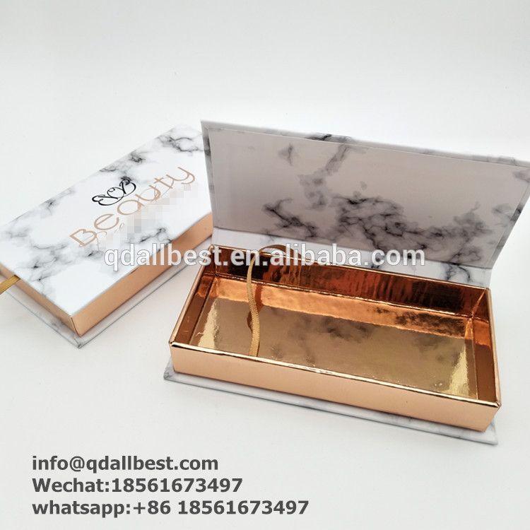 d175ed2b169 Luxury Custom 3D Mink Marble Pattern Lash Packaging Box   #eyelash ...