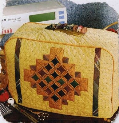 Cathedral Jewels Sewing Machine Cover Creative Scrap Quilt Pattern ❤❤❤
