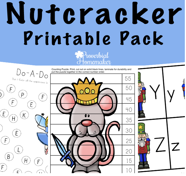 Nutcracker Printable Pack | Musik