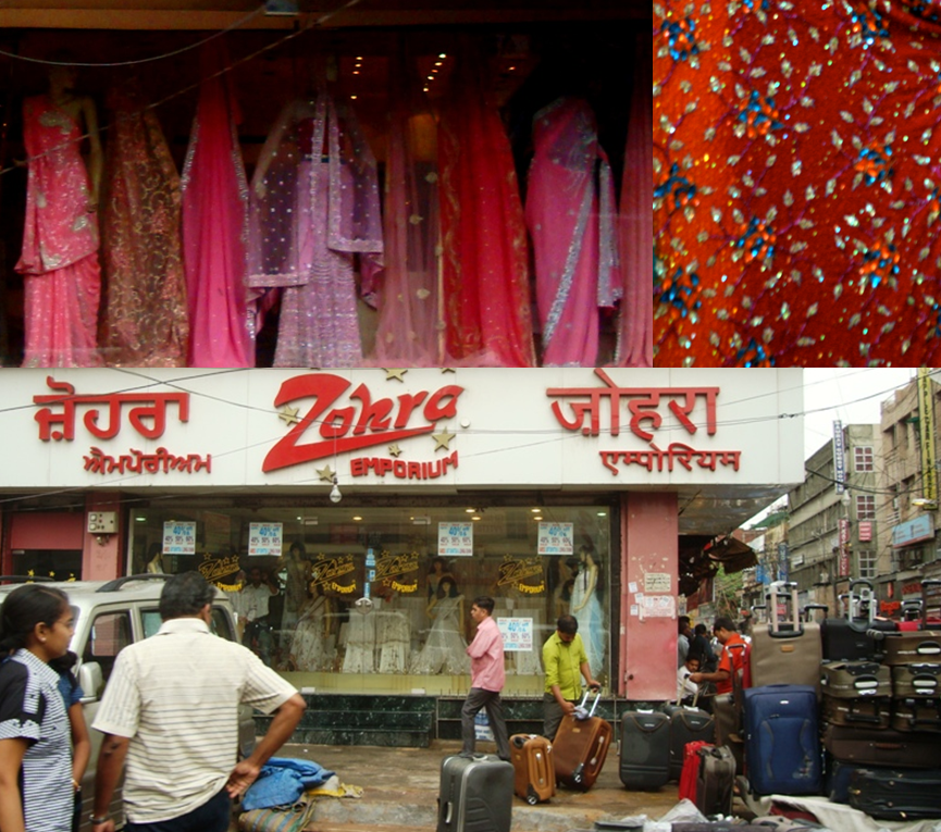 Karol Bagh Is A Big Centre For Wedding Shopping Although It Looks