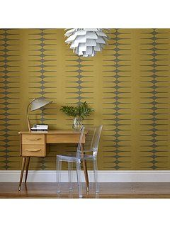 Yellow mustard vintage do the stretch wallpaper
