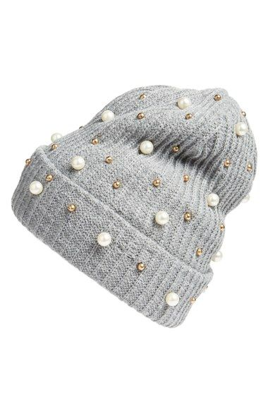 3782aefad Free shipping and returns on Cara Embellished Beanie at Nordstrom ...