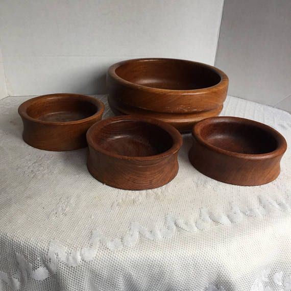 Woodenware Cheap Price Kalmar Teak Wooden Bowls Bowls