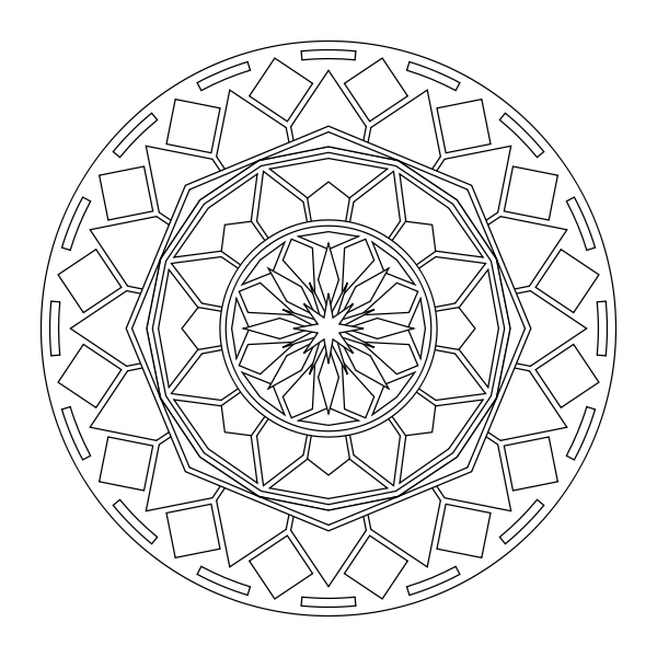 Free printable mandala coloring pages | Mandela ready to color ...