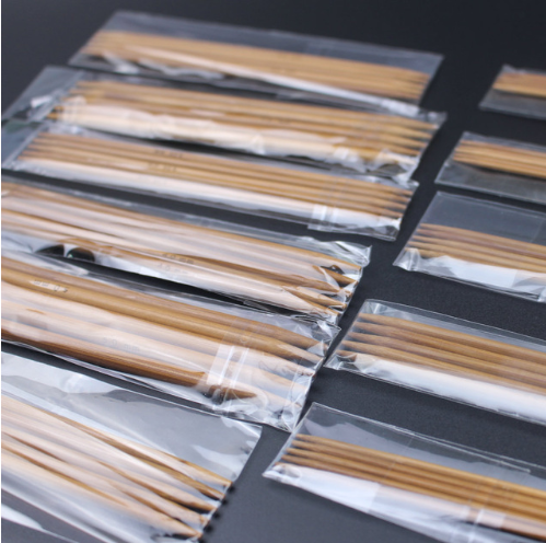 5 Double Pointed 13 cm Carbonized Bamboo Circular Knitting needles 2.0-5.0 mm