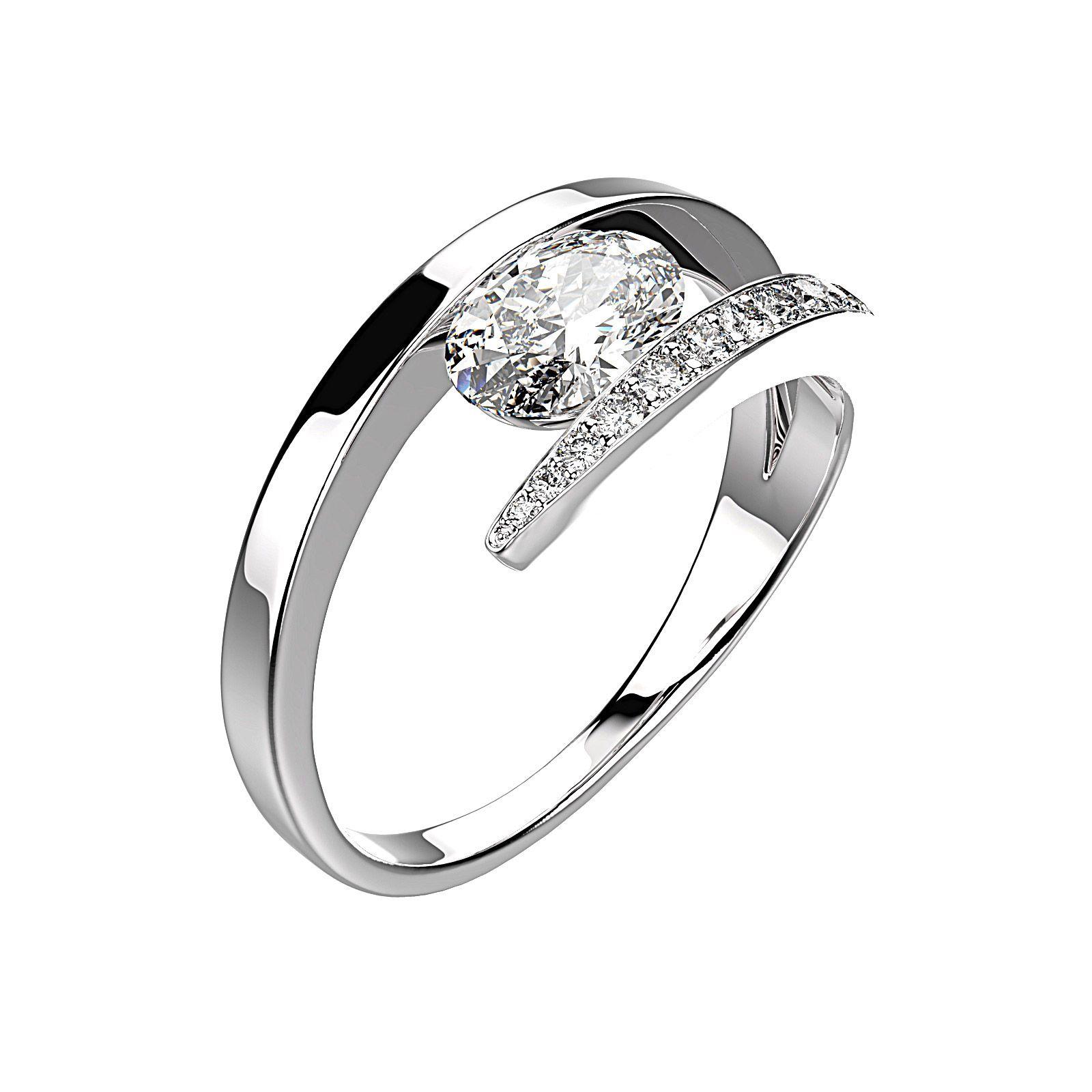 Populaire Ananta Bague Argent, Diamant | Diamant, Bagues et Argent SE22