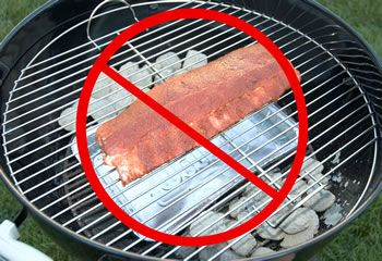 Here S How To Properly Set Up A Charcoal Grill Like The Weber Kettle For 2 Zones Cooking Kettle Grills Grilling Charcoal Grill