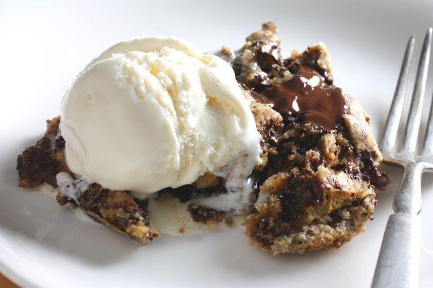 One Pan Skillet Cookie: http://www.gojee.com/food/links/one-pan-dark-chocolate-chunk-skillet-cookie