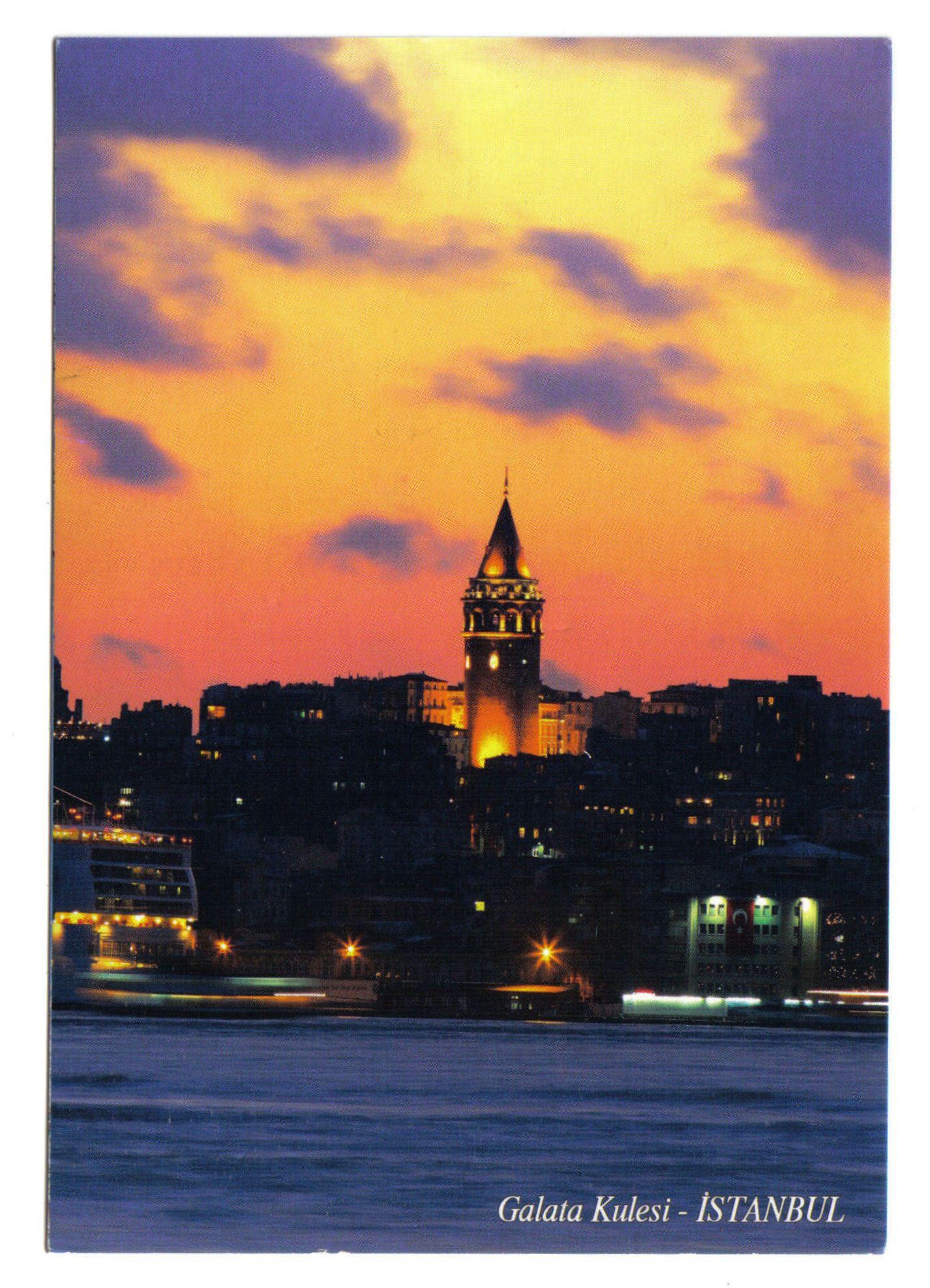 istanbul galata kulesi istanbul
