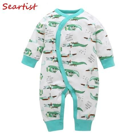 053d019bf Seartist 2018 New Newborn Jumpsuit Cartoon Spring Winter Long Sleeve ...