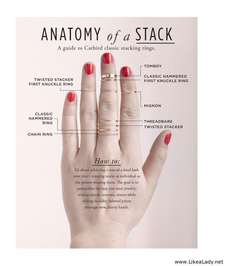 Anatomy of a stack   My Style   Pinterest   Anatomy, Jewerly and ...