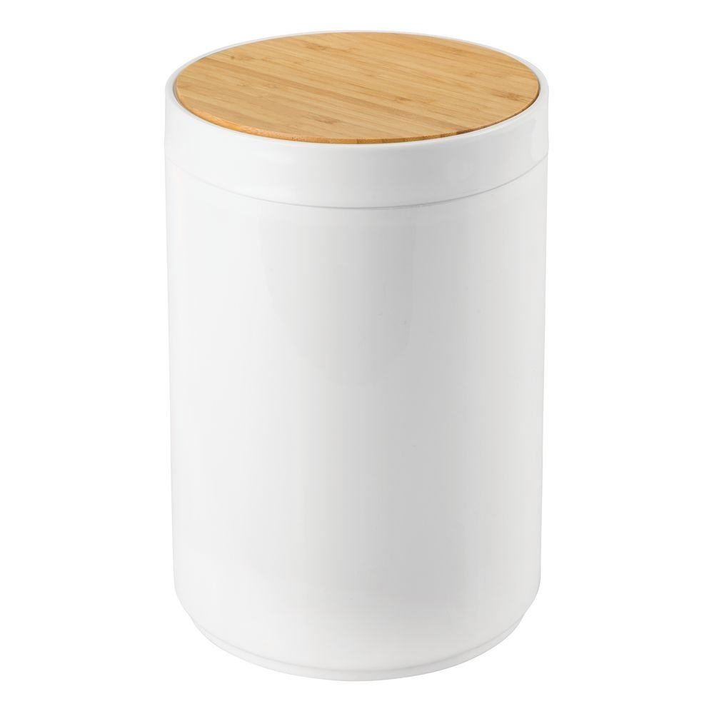 Small Plastic Trash Can Garbage Bin With Swing Lid Trash Can