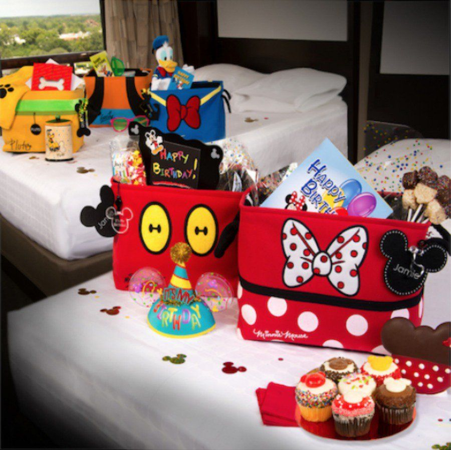 Four New InRoom Celebrations Introduced at Walt Disney