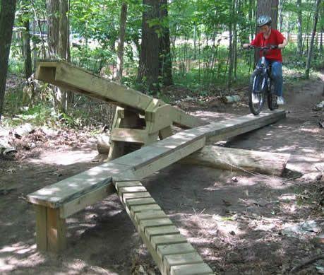 Mountain Bike Skills Course Ideas Mountain Bike Trails Mountain
