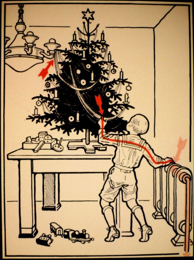 30 Ways to Die by Electrocution Creepy christmas