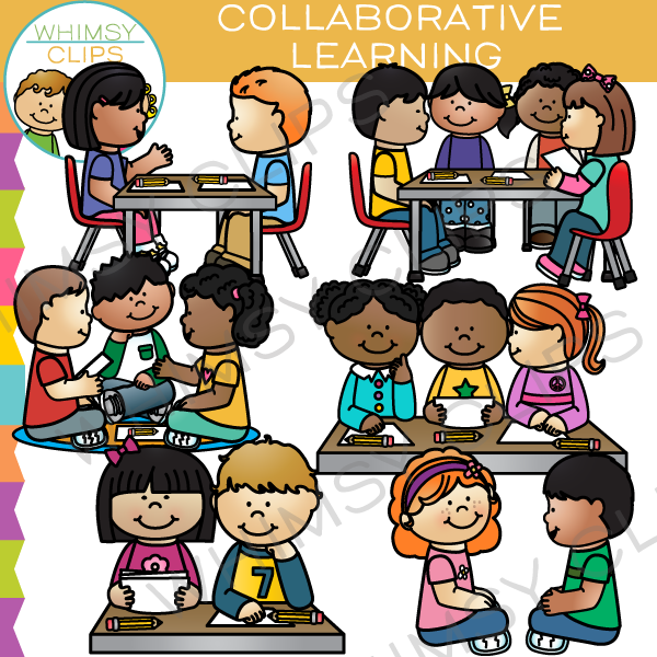 Image result for school work clipart Collaborative