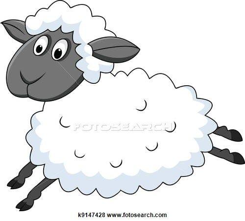 Mouton clipart et graphisme 4082 mouton la recherche de - Mouton a dessiner ...