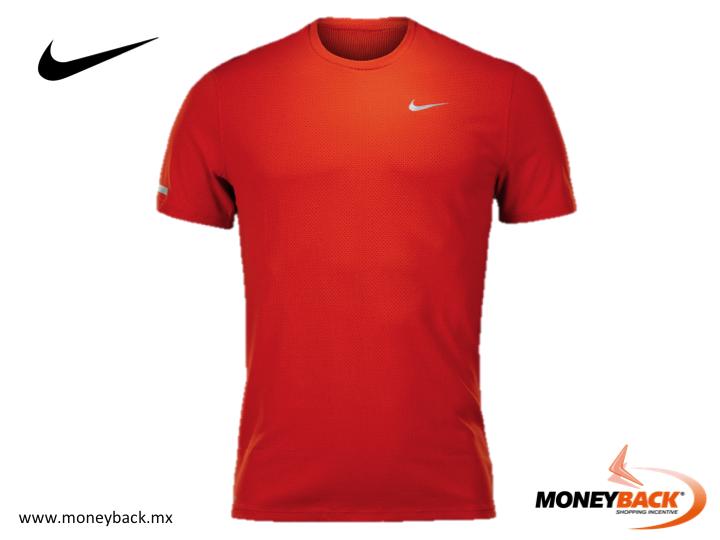 La tela Dri-FIT de la playera Nike Dri Fit Contour está diseñada para  ayudarte a permanecer seco y cómodo b664ec1897208