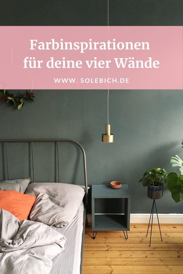 Farbinspirationen für deine vier Wände Foto Altonastories   Wandfarbe Inspirationen für Wohnzimmer Schlafzimmer und Co