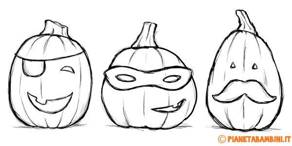 60 Disegni Di Zucche Di Halloween Da Colorare Pagine Da Colorare