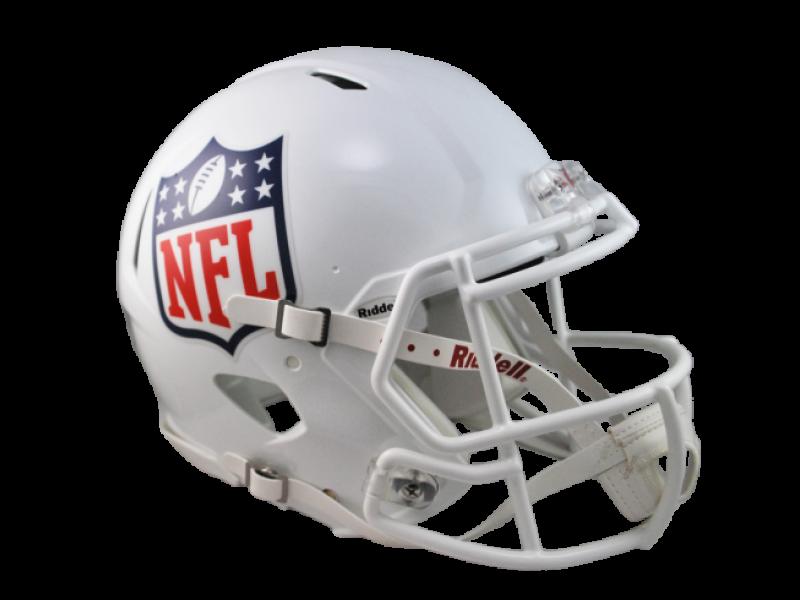 NFL logo on helmet Helmet, Nfl