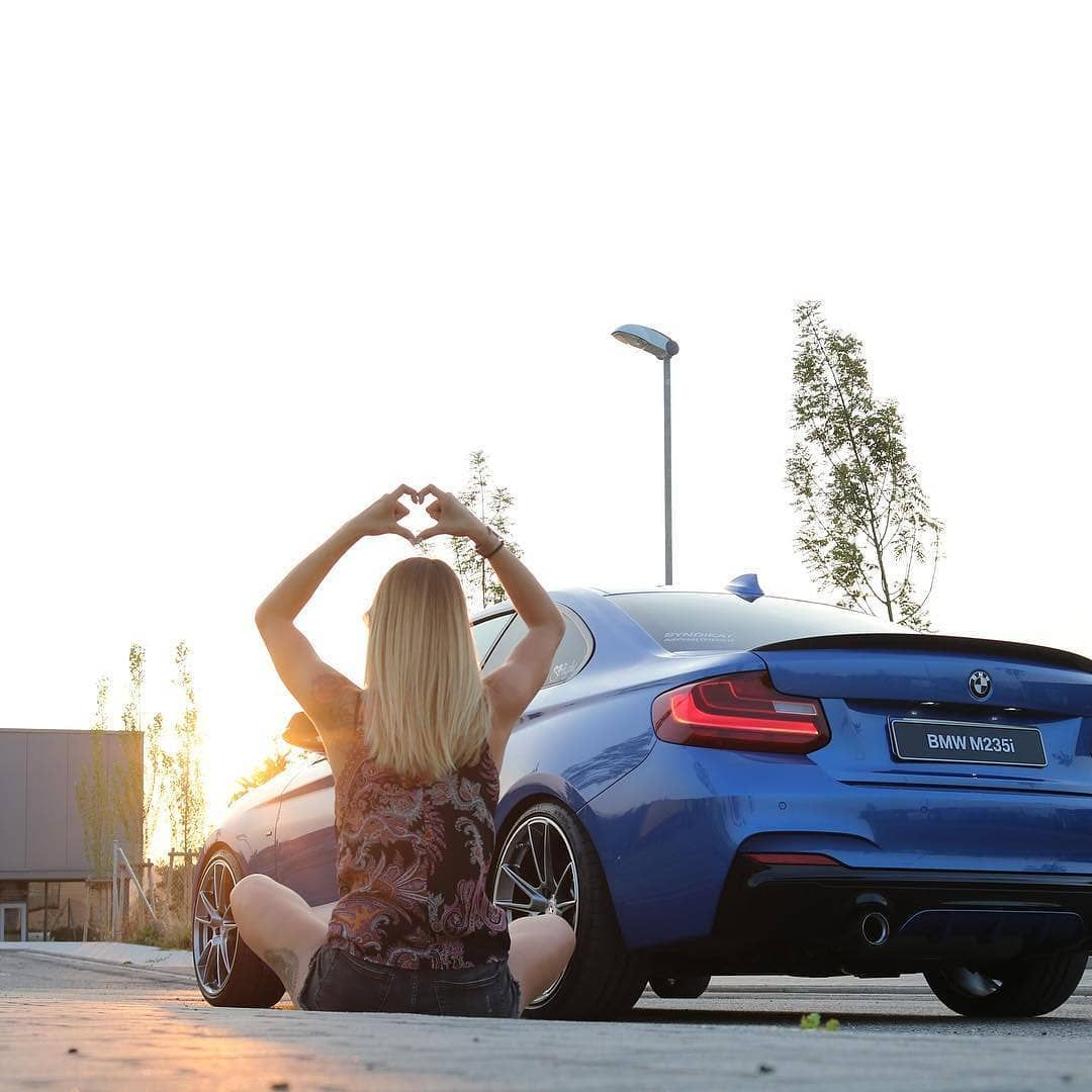 From With Love Blue F22 Bmw M235i Bmwstories Trackrecon