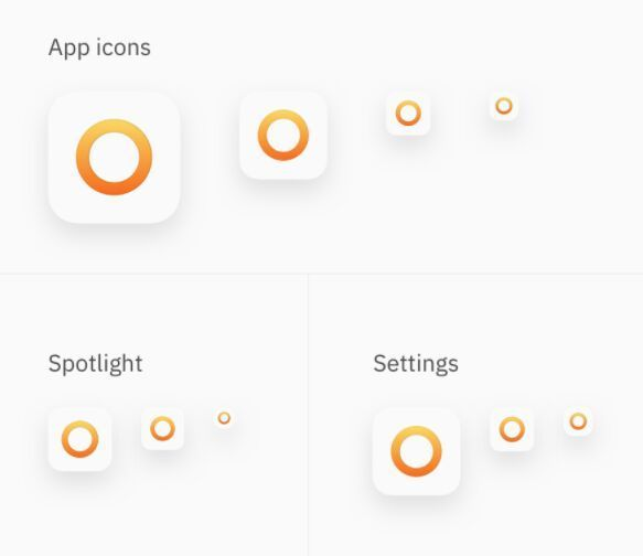 Free iOS App Icon Template Sketch Ios app icon, App icon and iOS App