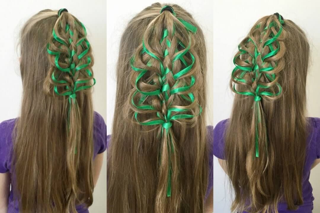 Loop Braid Christmas Tree With Instructions Only Going To Take 10