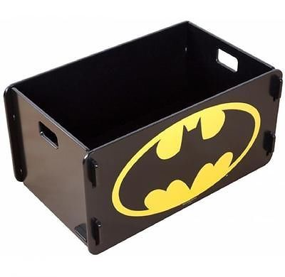 Batman Dc Comics Batcave Wooden Toy Box Kids Childrens Storage Room Tidy Unit In Bedroom Furniture