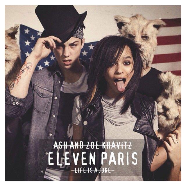 Zoe kravitz and ash stymest