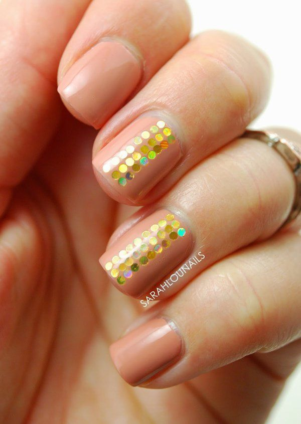 40 Nude Color Nail Art Ideas | Nude nails, Color nails and White polish