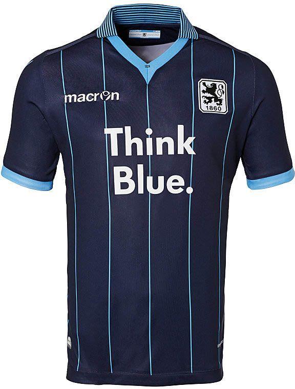 53fa9441730 TSV 1860 München (Germany) - 2015 2016 Macron Away Shirt