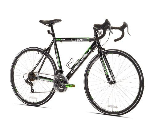 Gmc Denali Road Bike Black Green 22 5 Inch Medium Gmc Denali
