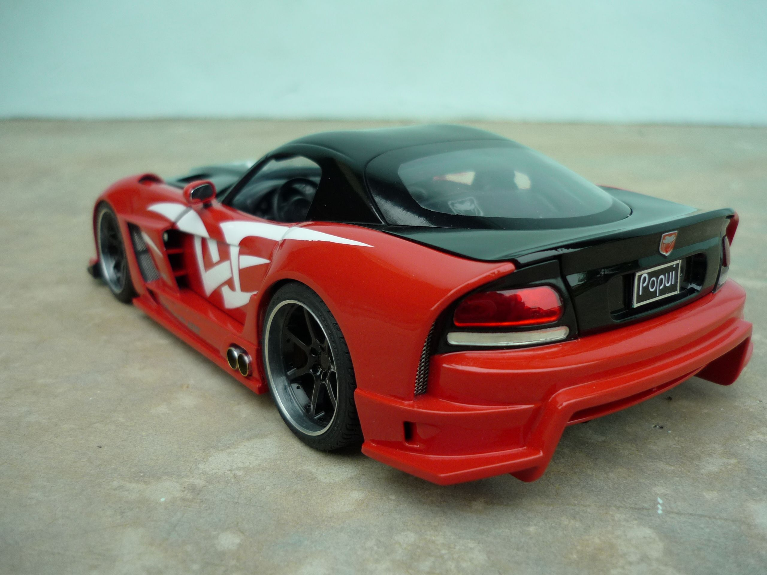Dodge Viper 1 24 Revell Widebody Dodge Viper Body Kit Wide Body Kits